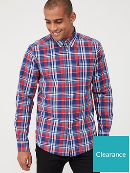 barbour-country-check-10-shirt-navyred