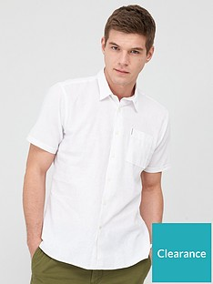 barbour-linen-short-sleeved-shirt-white
