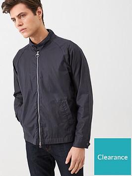 barbour-ender-wax-jacket-navy