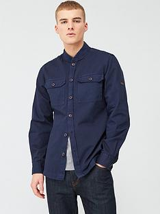 barbour-international-spacer-overshirt-navy