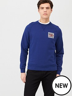 barbour-international-steve-mcqueen-team-flags-sweatshirt-with-back-print-inky-blue