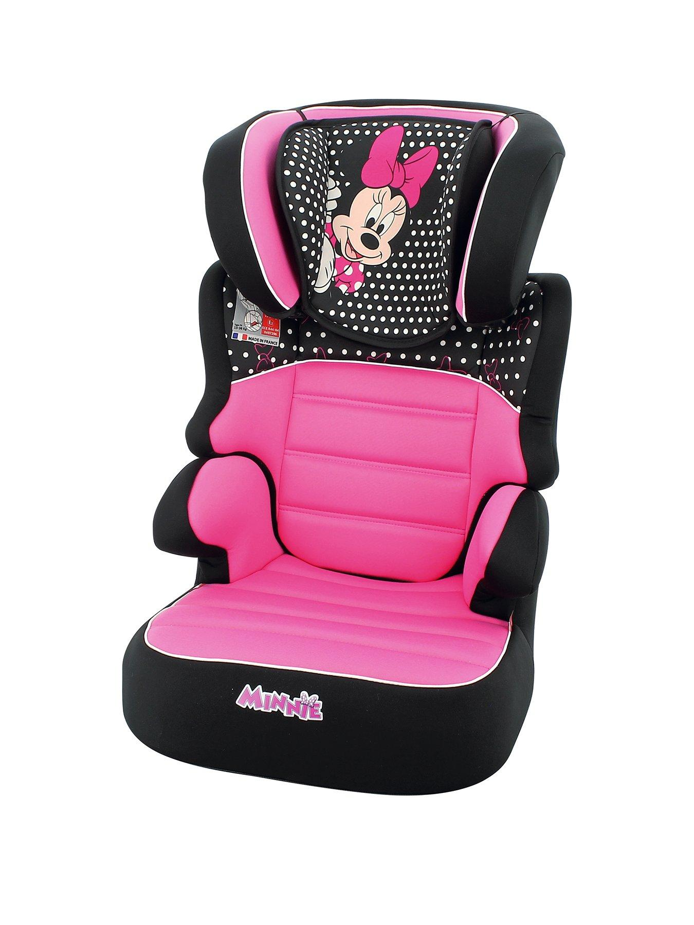 BOI Baby Stroller Cushion Head and Body Support Pillow for Car Seats Mat Cover Protector for Baby Kid Toddler Infants,Pink Royal Princess