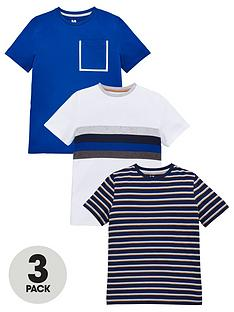 v-by-very-boys-3-pack-stripe-short-sleeve-tees-bluemulti