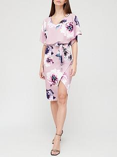 quiz-floral-batwing-midi-dress-mauve