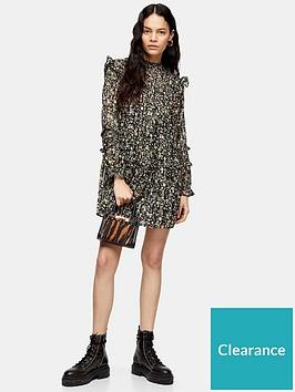 topshop-topshop-lurex-pintuck-mini-dress-monochrome
