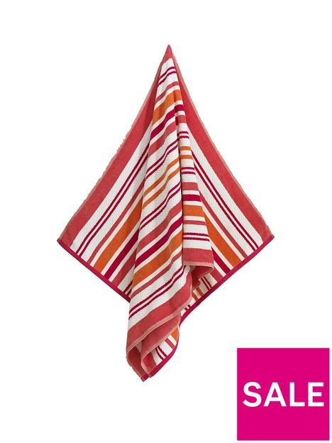 deyongs-marbiellenbspcotton-beach-towel--nbsppink