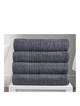 eden-egyptian-pair-of-cotton-towels-charcoal