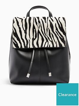 topshop-zebra-backpack-monochrome