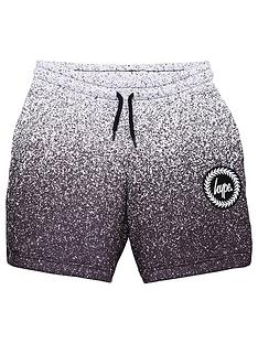 hype-boys-speckle-fade-jog-shorts-black