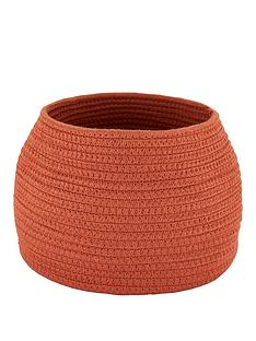small-cotton-rope-storage-basket-burnt-orange