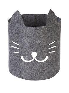 cat-face-felt-storage-bag