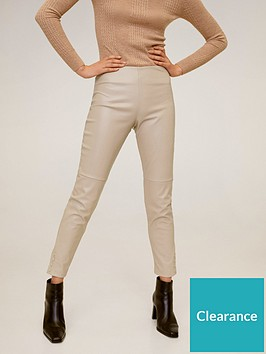 mango-faux-leather-basic-skinny-trouser-light-pink