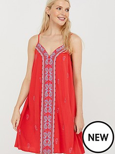 monsoon-sushma-embroidered-ecovero-dress-coral
