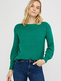 monsoon-grace-jumper-green