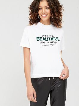 mango-beautiful-slogan-t-shirt-white