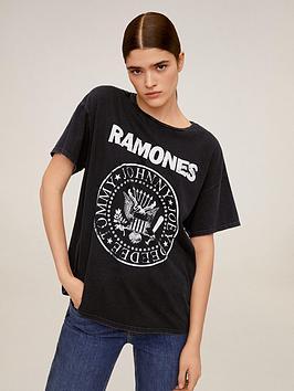 mango-ramones-t-shirt-black