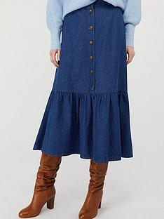 monsoon-tori-organic-cotton-tiered-denim-skirt-blue