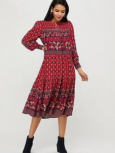 monsoon-deanna-print-sustainable-viscose-dress-pink-coral