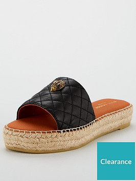 kurt-geiger-london-karmen-slide-flat-sandal-black