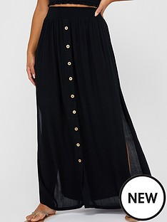 accessorize-charlotte-ruched-skirt-black