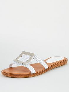carvela-comfort-skipper-flat-sandal-white