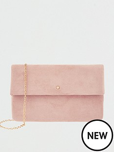 accessorize-foldover-clutch-pink