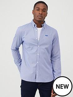 superdry-classic-london-gingham-shirt-blue