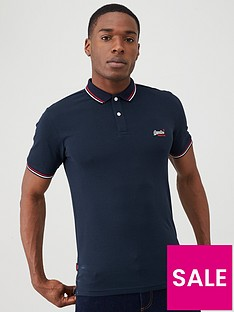 superdry-classic-micro-lite-tipped-polo-shirt-navy