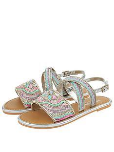 monsoon-girls-allie-silver-beaded-sandal-silver
