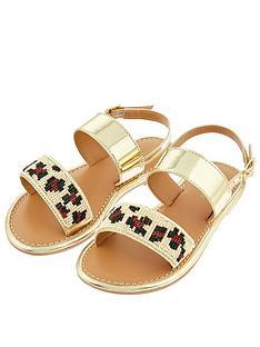 monsoon-girls-zadie-beaded-animal-sandal-gold