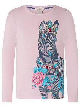 monsoon-sew-girls-zebra-top-pink