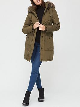 v-by-very-valuenbspultimate-parka-with-faux-fur-trim-khaki