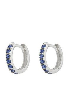 accessorize-st-huggie-hoop-earrings-blue