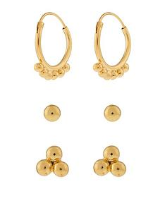 accessorize-st-3x-hoop-and-stud-set-gold