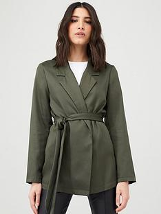 v-by-very-tie-waist-soft-tailored-jacket-khaki