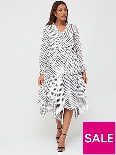 v-by-very-polka-dot-tiered-midaxi-dress-white-spot