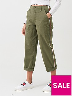 tommy-jeans-side-stripe-high-rise-trouser-olive