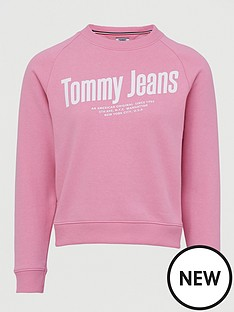 tommy-jeans-chest-logo-sweat-shirt-pink