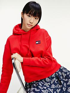 tommy-jeans-tommy-badge-hoodie-red