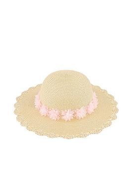 monsoon-girls-macaroon-flower-floppy-hat-natural