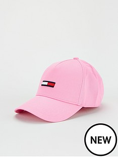 tommy-jeans-flag-cap-pink