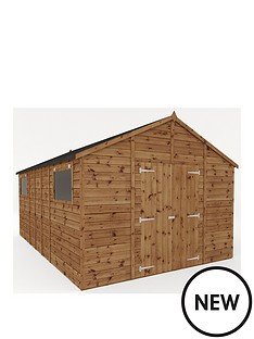 mercia-16x10-premium-pressure-treated-shiplap-workshop-shed-with-double-doors