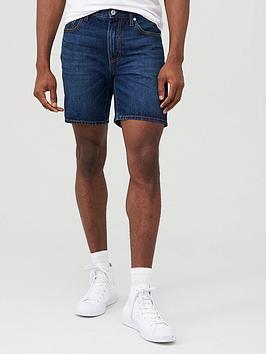 superdry-05-conor-tapered-denim-shorts-dark-blue
