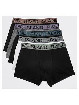 river-island-metallic-waistband-trunks-5-pack-blackwhitegreynbsp
