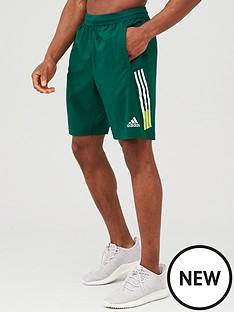 adidas-4k-3-stripe-woven-shorts-green