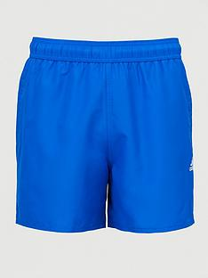 adidas-solid-clx-swim-shorts-blue