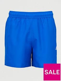 adidas-solid-clx-swim-shorts-blue
