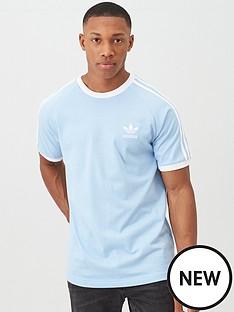 adidas-originals-3-stripe-california-t-shirt-blue