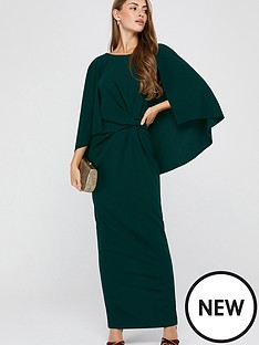 monsoon-cara-cape-maxi-dress-green