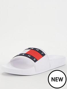 tommy-jeans-flag-pool-sliders-white